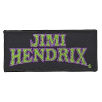 JIMI HENDRIX Arched Logo Patch ワッペン