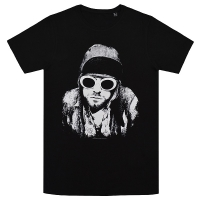 KURT COBAIN One Colour Tシャツ