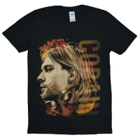 KURT COBAIN Coloured Side View Tシャツ