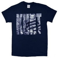 KURT COBAIN Photo Logo Tシャツ