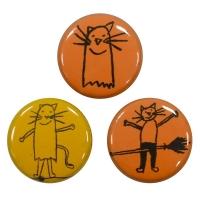 K RECORDS Logo バッジ