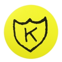 K RECORDS Logo ステッカー