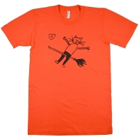 K RECORDS Cat Witch Tシャツ