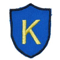 K RECORDS Logo ワッペン