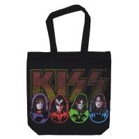 KISS Faces & Logo トートバッグ
