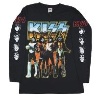 KISS Love Gun Chrome ロングスリーブ Tシャツ
