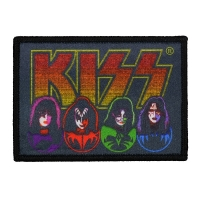 KISS Faces & Logo Patch ワッペン