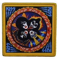 KISS Rock And Roll Over Patch ワッペン