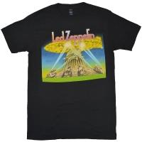 LED ZEPPELIN Space Ship Tシャツ