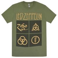 LED ZEPPELIN Black Box Symbols Tシャツ