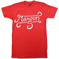 MAROON 5 Curl Logo Tシャツ