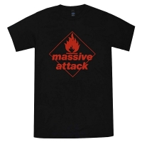 MASSIVE ATTACK Blue Lines Tシャツ