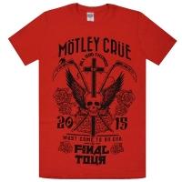 MOTLEY CRUE Final Tour Tシャツ