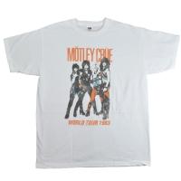 MOTLEY CRUE Vintage World Tour Tシャツ