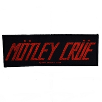 MOTLEY CRUE Logo Patch ワッペン