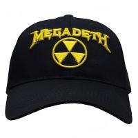 MEGADETH Hazard Logo スナップバックキャップ