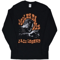 MILES DAVIS Jazz Legend ロングスリーブ Tシャツ