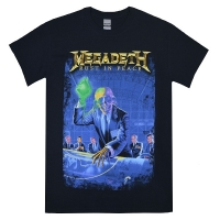MEGADETH Rust In Peace 30th Anniversary Tシャツ