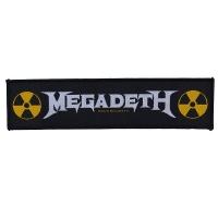 MEGADETH Logo Patch ワッペン