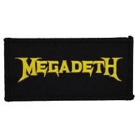 MEGADETH Band Logo Patch ワッペン