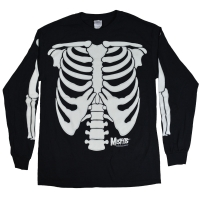 MISFITS Glow In The Dark Skeleton ロングスリーブ Tシャツ