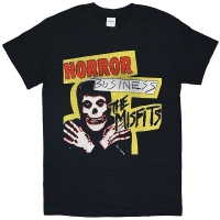 MISFITS Distressed Horror Business Tシャツ