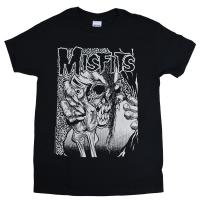 MISFITS Pushead Evil Eye Eyeball Tシャツ