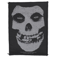 MISFITS Crimson Ghost Skull Patch ワッペン