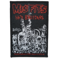 MISFITS Hate Breeders Patch ワッペン