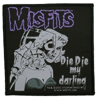 MISFITS Die Die My Darling Patch ワッペン