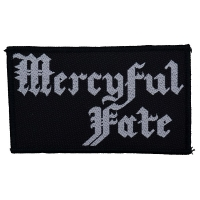 MERCYFUL FATE Logo Patch ワッペン