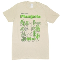 MORT GARSON Plantasia Man With His Plants Tシャツ