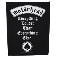 MOTORHEAD Everything Louder Than Everything Else バックパッチ