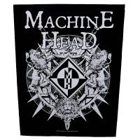 MACHINE HEAD Crest With Swords バックパッチ
