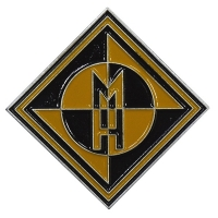 MACHINE HEAD Diamond Logo ピンバッジ