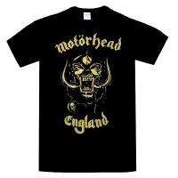 MOTORHEAD England Classic Gold Tシャツ