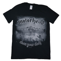 MOTORHEAD Clean Your Clock B&W Tシャツ
