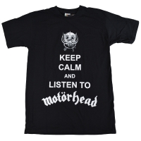 MOTORHEAD Keep Calm Tシャツ