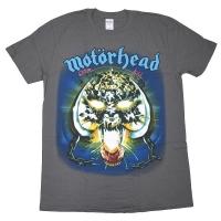 MOTORHEAD モーターヘッド Overkill Tシャツ CHARCOAL GREY