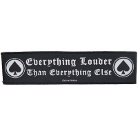 MOTORHEAD Everything Louder Than Everything Else Patch ワッペン