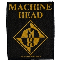 MACHINE HEAD Diamond Logo Patch ワッペン