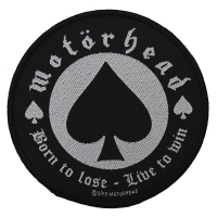 MOTORHEAD Born To Lose Patch ワッペン