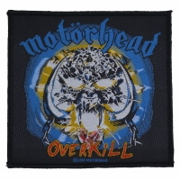 MOTORHEAD Overkill Patch ワッペン