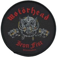 MOTORHEAD Iron Fist Patch ワッペン 2