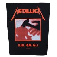 METALLICA Kill 'Em All バックパッチ