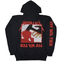 METALLICA Kill 'Em All ZIP フード パーカー