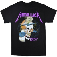 METALLICA Harvester Damaged Justice Tシャツ