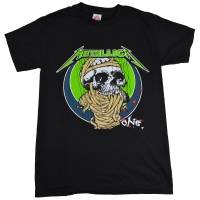 METALLICA ONE BLK PUSHEAD Tシャツ