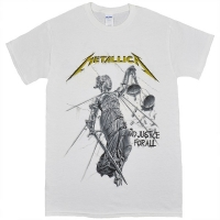 METALLICA ...And Justice For All Tシャツ WHITE