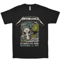 METALLICA Pittsburgh Arena Tシャツ